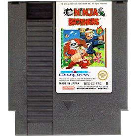 LITTLE NINJA BROTHERS NES