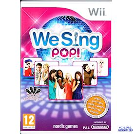 WE SING POP WII