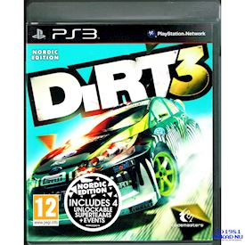 DIRT 3 NORDIC EDITION PS3
