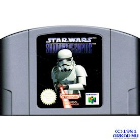 STAR WARS SHADOW OF THE EMPIRE N64