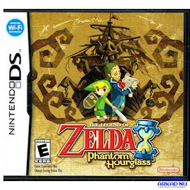 ZELDA PHANTOM HOURGLASS DS