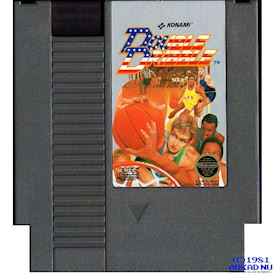 DOUBLE DRIBBLE NES REV-A