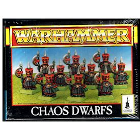 CHAOS DWARFS WARHAMMER GAMES WORKSHOP 1994