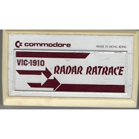 RADAR RATRACE VIC-20