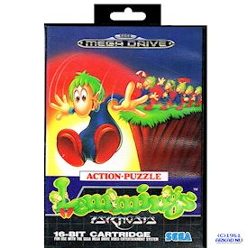 LEMMINGS MEGADRIVE