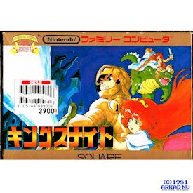 KINGS KNIGHT FAMICOM
