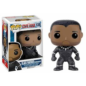 FUNKO POP BLACK PANTHER UNMASKED #138