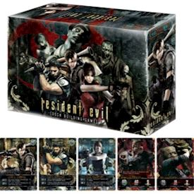 RESIDENT EVIL THE DECK BUILDING GAME