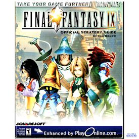 FINAL FANTASY IX STRATEGY GUIDE BRADY GAMES OFFICIAL