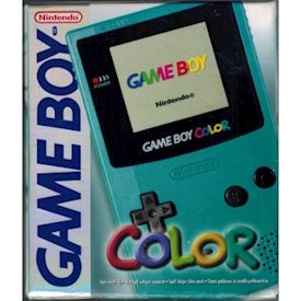 GAMEBOY COLOR BLÅ BOXAD SCN