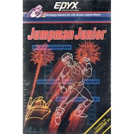 JUMPMAN JUNIOR C64 CARTRIDGE NYTT