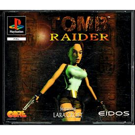 TOMB RAIDER PS1 DOUBLE JEWEL CASE VERSION