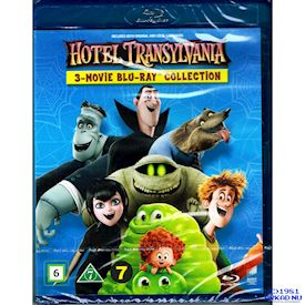 HOTEL TRANSYLVANIA 3-MOVIE COLLECTION BLU-RAY