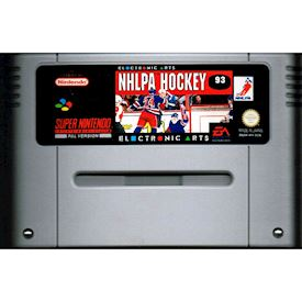 NHLPA HOCKEY 93 SNES SCN