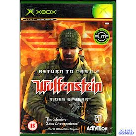 RETURN TO CASTLE WOLFENSTEIN TIDES OF WAR XBOX