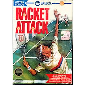 RACKET ATTACK LIMITED EDITION NES REV-A USA NYTT INPLASTAT
