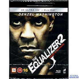 THE EQUALIZER 2 4K ULTRA HD + BLU-RAY