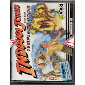 INDIANA JONES AND THE TEMPLE OF DOOM C64 TAPE