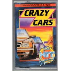 CRAZY CARS C64 TAPE
