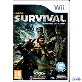 CABELAS SURVIVAL SHADOWS OF KATMAI WII