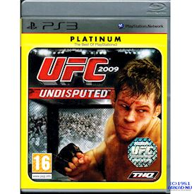 UFC 2009 UNDISPUTED 2009 PS3