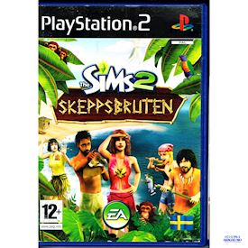 THE SIMS 2 SKEPPSBRUTEN PS2