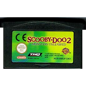 SCOOBEY-DOO 2 MONSTERS UNLEASHED GBA