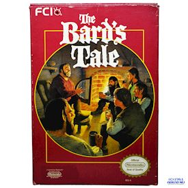 THE BARDS TALE NES REV-A USA