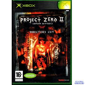 PROJECT ZERO II CRIMSON BUTTERFLY DIRECTORS CUT XBOX