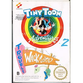 TINY TOON ADVENTURES 2 TROUBLE IN WACKYLAND NES SCN
