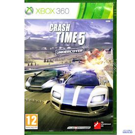 CRASH TIME 5 UNDERCOVER XBOX 360