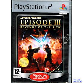 STAR WARS EPISODE III REVENGE OF THE SITH PS2