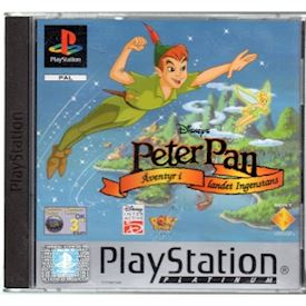 DISNEYS PETER PAN ÄVENTYR I LANDET INGENSTANS PS1