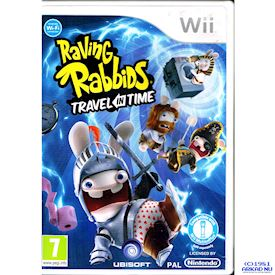 RAVING RABBIDS TRAVEL IN TIME WII