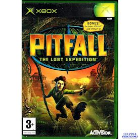 PITFALL THE LOST EXPEDITION XBOX