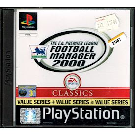 THE FA PREMIER LEAGUE FOOTBALL MANAGER 2000 PS1