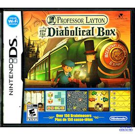 PROFESSOR LAYTON AND THE DIABOLICAL BOX DS