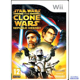 STAR WARS THE CLONE WARS REPUBLIC HEROES WII