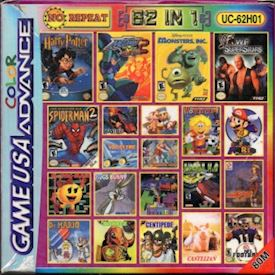 62IN1 UC-62H01 BOOTLEG GAMEBOY