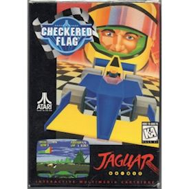 CHECKERED FLAG JAGUAR