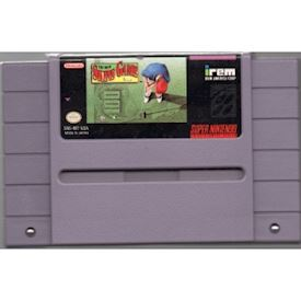 THE IREM SKINS GAME SNES NTSC