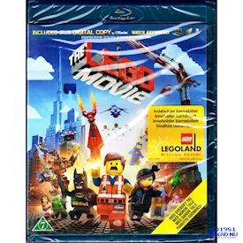 LEGO THE MOVIE BLU-RAY