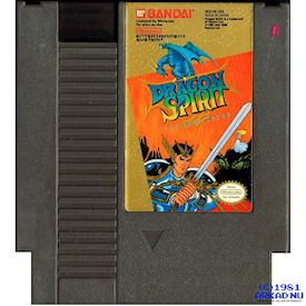 DRAGON SPIRIT NES REV-A