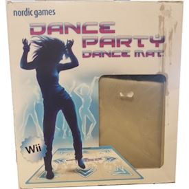 DANCE PARTY DANCE MAT WII