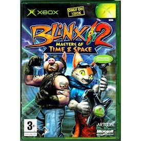 BLINX 2 MASTERS OF TIME & SPACE XBOX