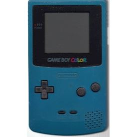 GAMEBOY COLOR TEAL BLUE
