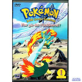 POKEMON JOHTO LEAGUE CHAMPIONS HUR GÅR DET I GOLDENROD? DVD