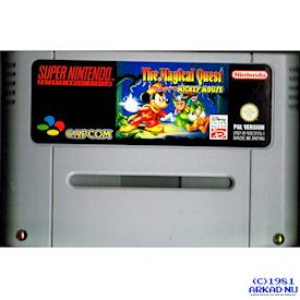 THE MAGICAL QUEST STARRING MICKEY MOUSE SNES TYSK TEXT