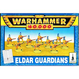 ELDAR GUARDIANS WARHAMMER 40000 GAMES WORKSHOP 1994