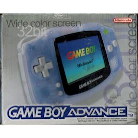 GAMEBOY ADVANCE CLEAR BASENHET